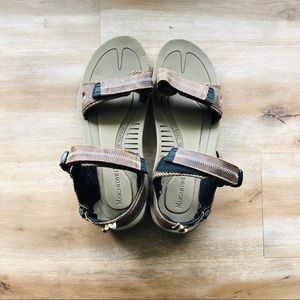 Men's Size 14 Tampico Brown Leather Sandals Shoes